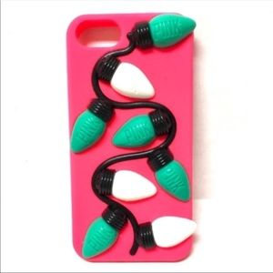 VS PINK 3-D iPhone Xmas silicone case 8,7,6,6S